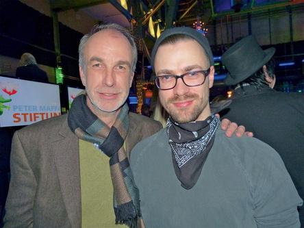 Vater und Sohn im Einsatz für den ESC: Lars (links) und Nisse Ingwersen (Bild: MusikWoche)