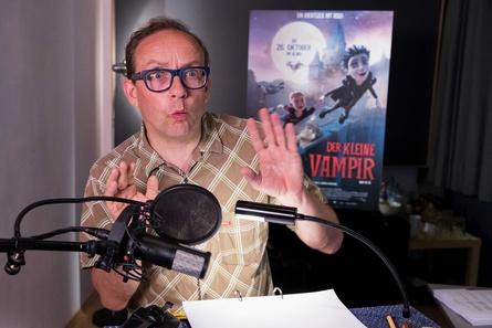 """Wigald Boning spricht Manni für """"Der kleine Vampir"""" (Bild: Universum Film/Andreas Rentz)"""
