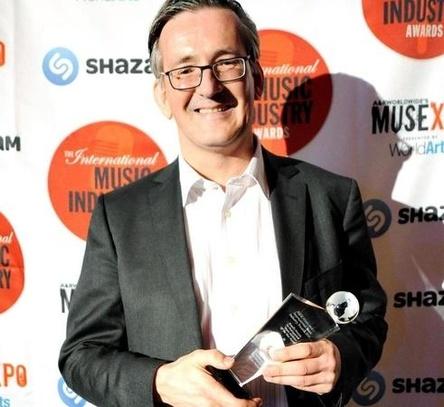 Wurde 2016 beim Musexpo-Branchentreff in Los Angeles mit dem International Music Industry Award in der Sparte Music Publisher ausgezeichnet: Jens-Markus Wegener (Bild: Musexpo)
