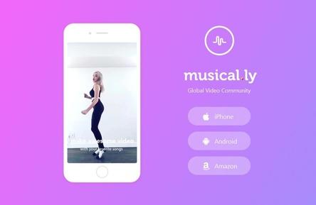 Zwischen 800 Millionen und einer Milliarde Dollar wert: ein chinesischer Onlinekonzern hat die Betreiber von Musical.ly übernommen (Bild: musical.ly, Screenshot)